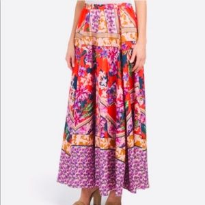 Cupio Skirts - CUPIO MULTICOLOR SKIRT